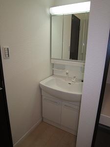 洗面:2階部分