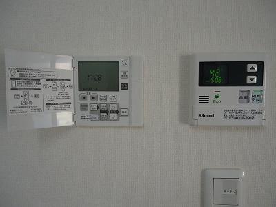 リモコン:床暖房コントローラー(左)