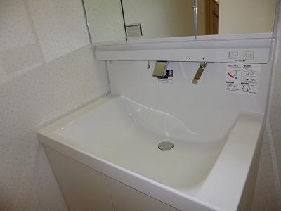 お手入れがラクラクな洗面ユニット