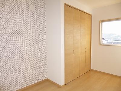 2階は全室にクローゼットを設置